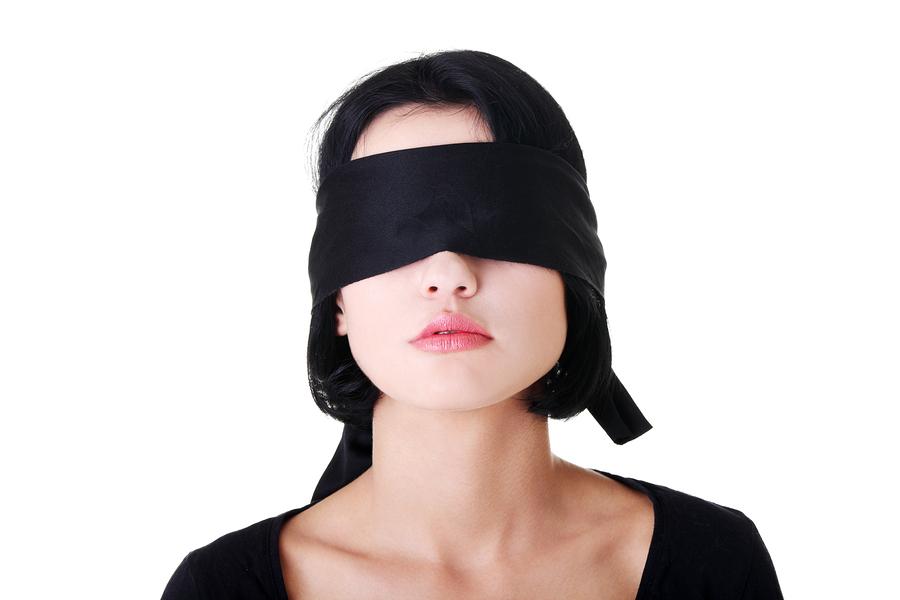 Blindfold til frække lege