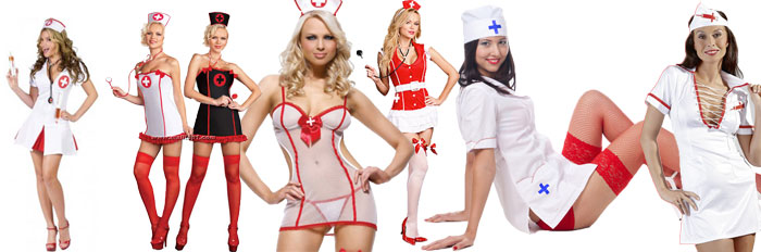 Sygeplejerske kostume til enhver lejlighed