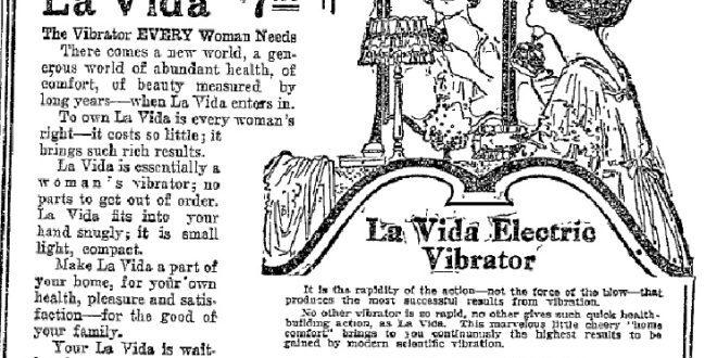 Vibratorens historie
