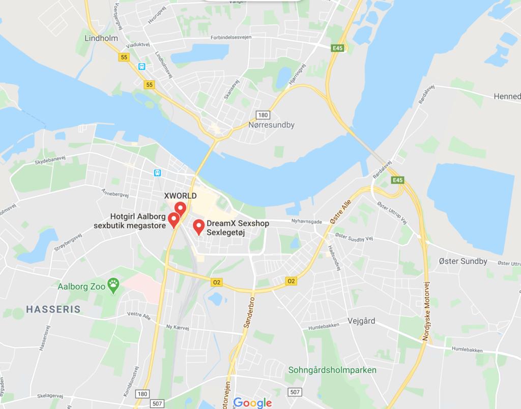 Sexshop I Aalborg